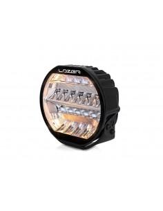 Lampa obrysowa NEON biało-czerwona długa 12/24v - lewa