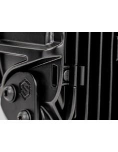 Lampa obrysowa NEON pomarańczowo-czerwona krótka 12/24v