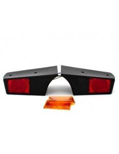 Lampa zespolona WAŚ W19D/288 tylna LED pozycja/stop/kierunek