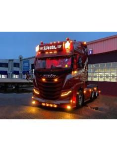 Lampa obrysowa FT-015 LED czerwona 12-36V