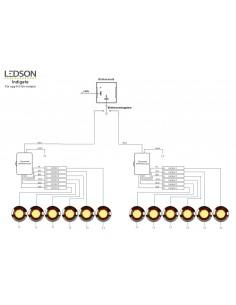 Skrzynia narzędziowa kwasoodporna 600x500x500