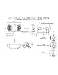Chlapacz tłoczony V8 SCANIA 2360x360 mm