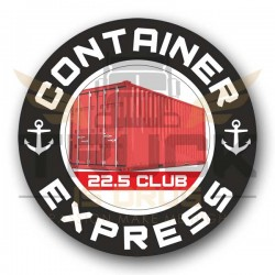 Container Express sticker large